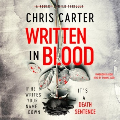 Cover for Written in Blood by Chris Carter