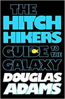 Cover for The Hitchhiker's Guide to the Galaxy by Douglas Adams, Eoin Colfer