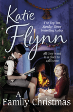 Cover for A Family Christmas by Katie Flynn
