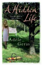 Cover for A Hidden Life by Adele Geras