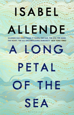 Cover for A Long Petal of the Sea by Isabel Allende