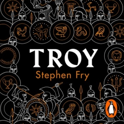 Cover for Troy by Stephen Fry