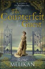 Cover for Counterfeit Guest by Rose Melikan