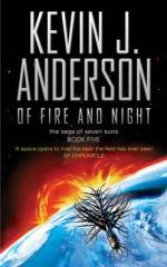 Of Fire and Night : The Saga of Seven Suns - Book 5