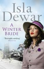 Cover for A Winter Bride by Isla Dewar