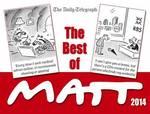 Cover for The Best of Matt by Matt Pritchett