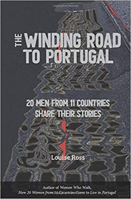 Cover for The Winding Road to Portugal by Louise Ross