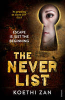 Cover for The Never List by Koethi Zan