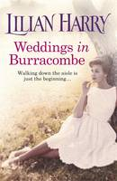 Cover for Weddings in Burracombe by Lilian Harry