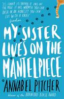 Cover for My Sister Lives on the Mantelpiece by Annabel Pitcher