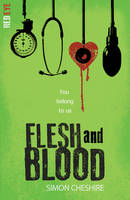 Cover for Flesh and Blood by Simon Cheshire