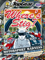 Cover for Where's Stig: Motorsport Madness by Rod Hunt
