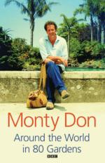 Cover for Around the World in 80 Gardens by Monty Don