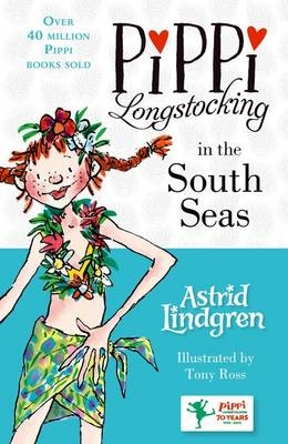 Cover for Pippi Longstocking in the South Seas by Astrid Lindgren