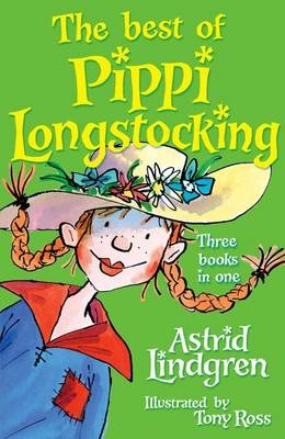 Cover for The Best of Pippi Longstocking by Astrid Lindgren