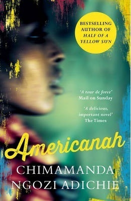 Cover for Americanah by Chimamanda Ngozi Adichie