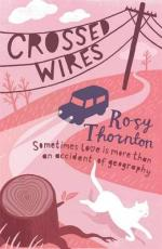 Cover for Crossed Wires by Rosy Thornton
