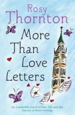 Cover for More Than Love Letters by Rosy Thornton