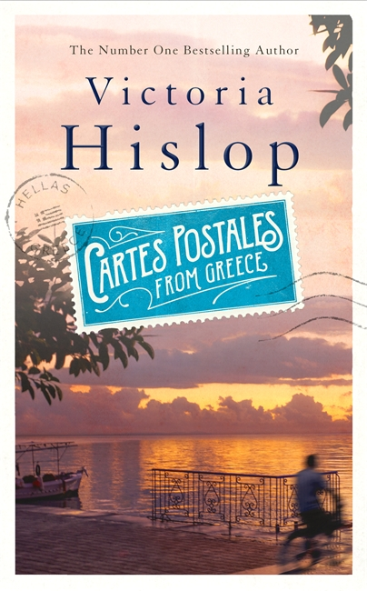 Cover for Cartes Postales from Greece by Victoria Hislop