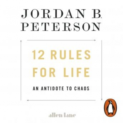 Cover for 12 Rules for Life by Jordan B. Peterson
