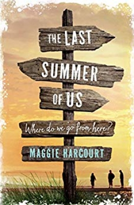Cover for The Last Summer of Us by Maggie Harcourt