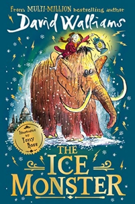 Cover for The Ice Monster by David Walliams