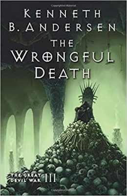 Cover for The Wrongful Death  by Kenneth B. Andersen