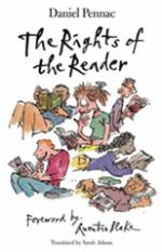 Cover for The Rights of the Reader by Daniel Pennac