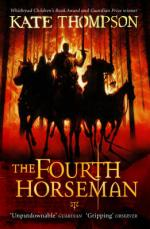 Cover for The Fourth Horseman by Kate Thompson
