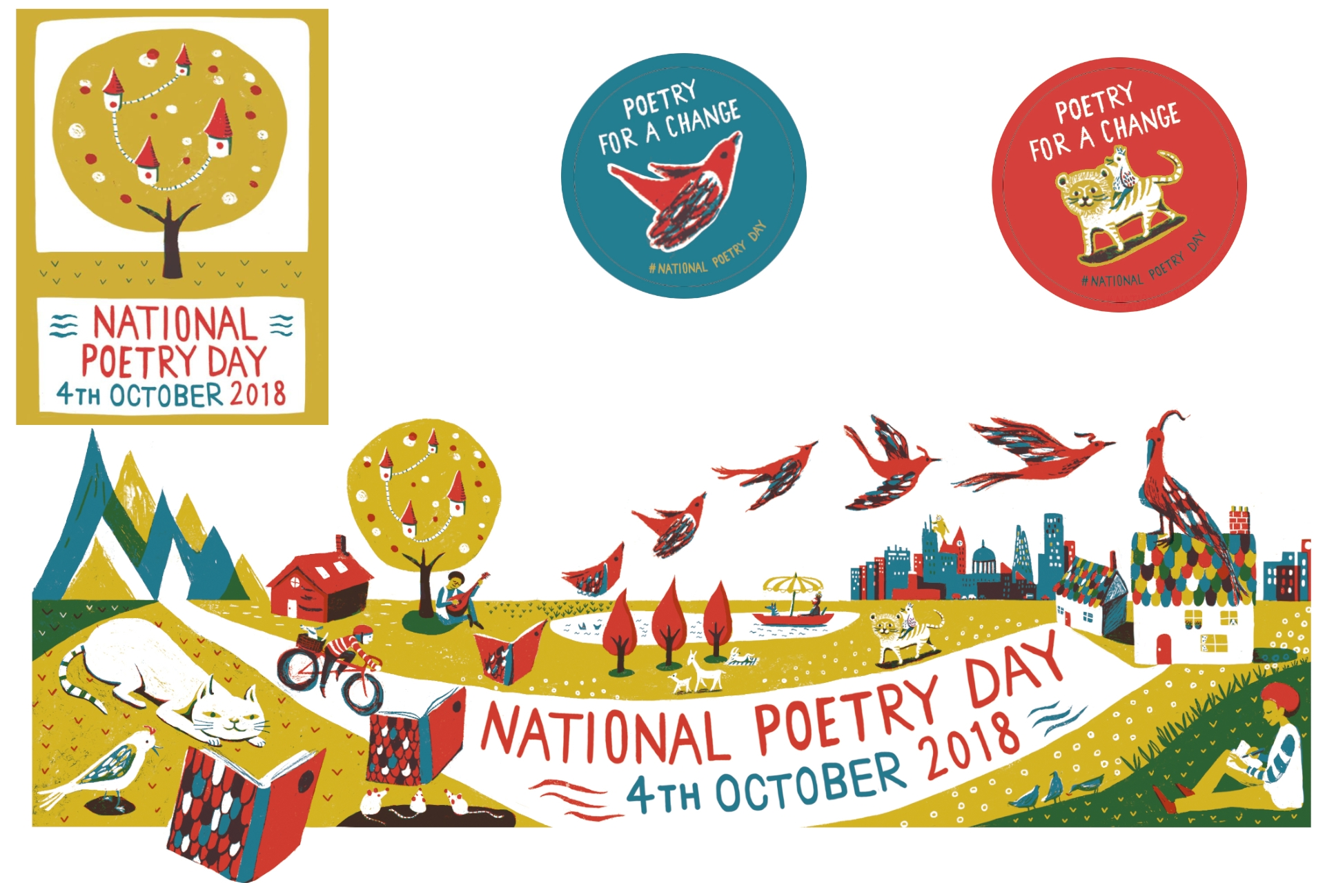 Celebrate National Poetry Day