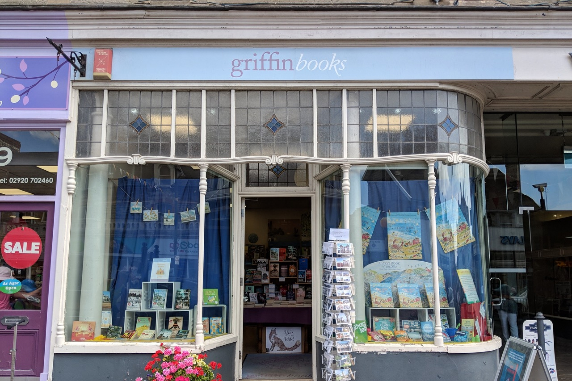 LoveReading Bookshop of the Month: Griffin Books (Penarth)