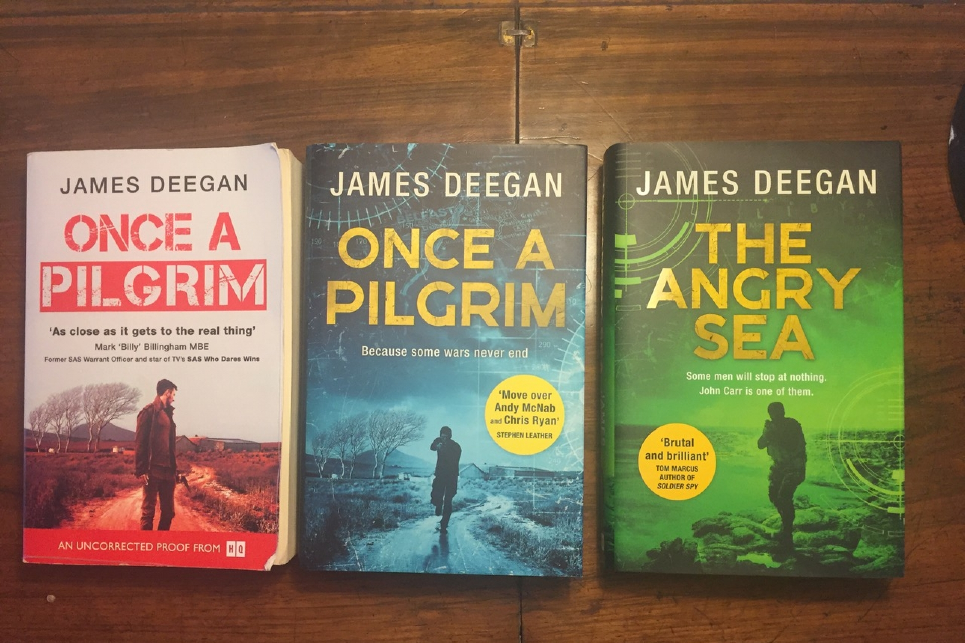 Putting Authors in the Picture #5: James Deegan