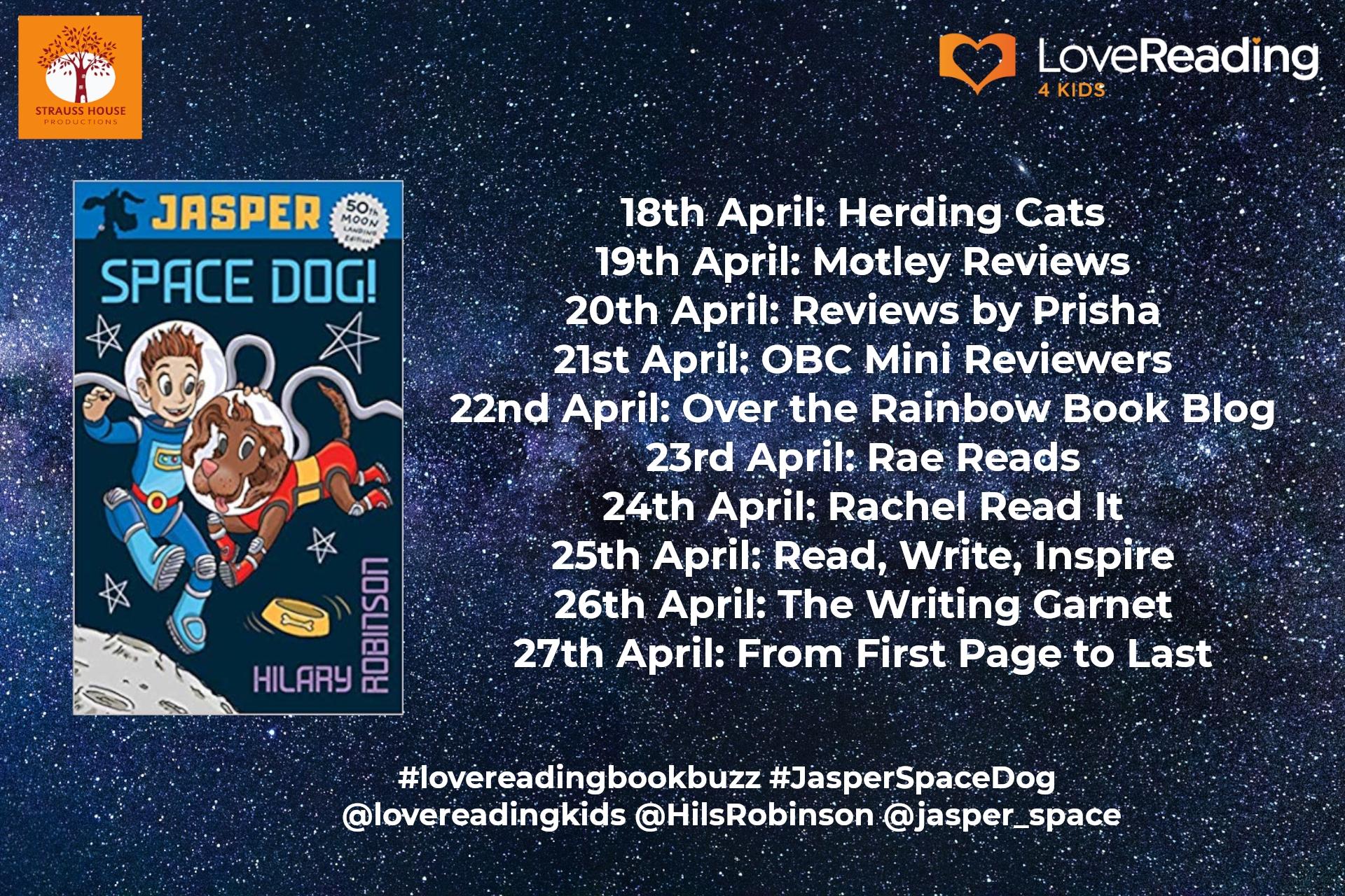 Ambassador Book Buzz: Jasper: Space Dog