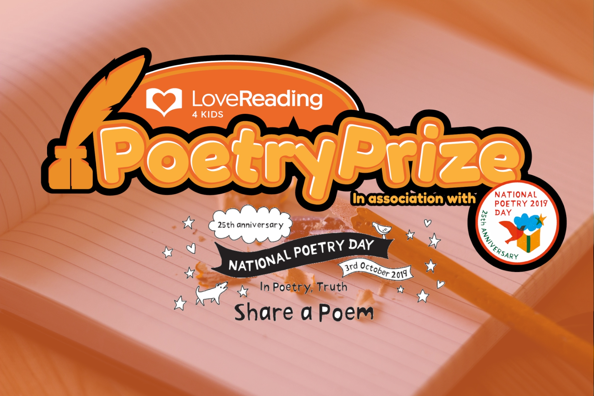 What You Need to Know About the LoveReading4Kids Poetry Prize!