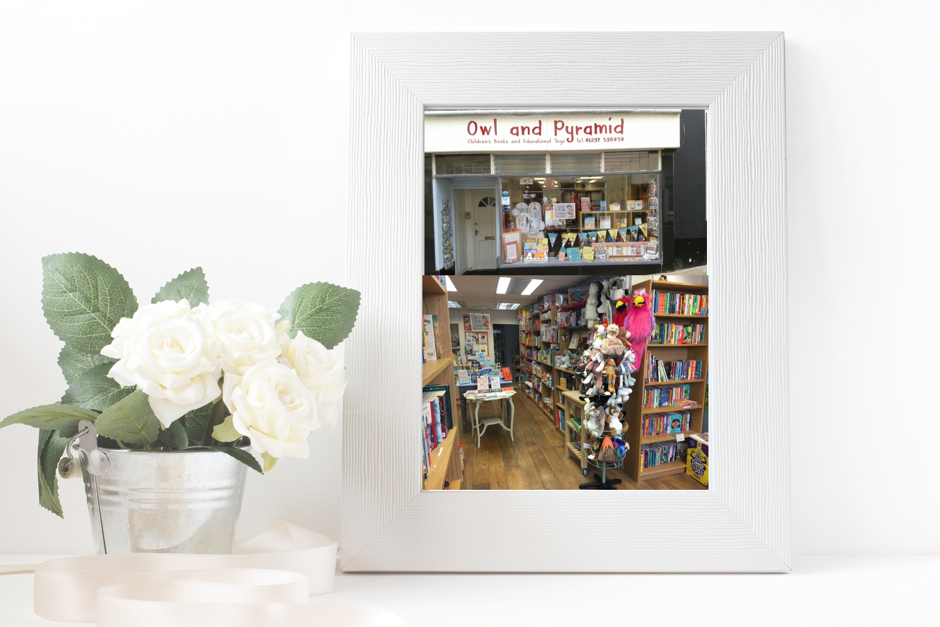 Book Shop Feature: Owl and Pyramid