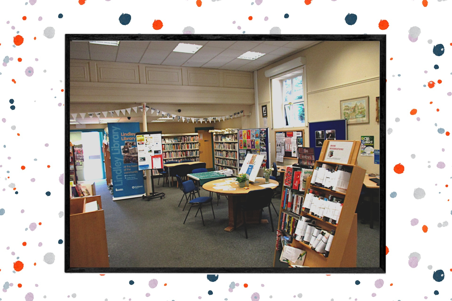 LoveReading Library of the Month #12: Lindley Library