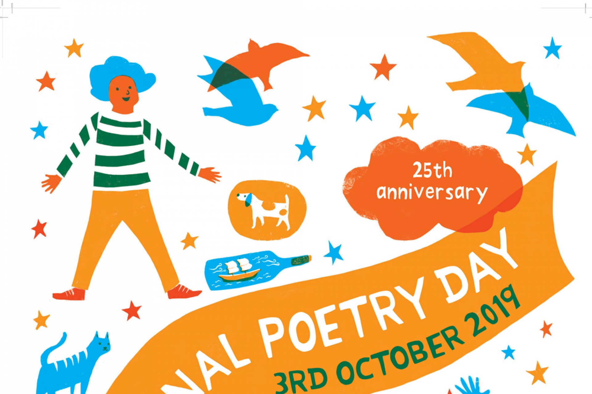 National Poetry Day - 3rd October 2019