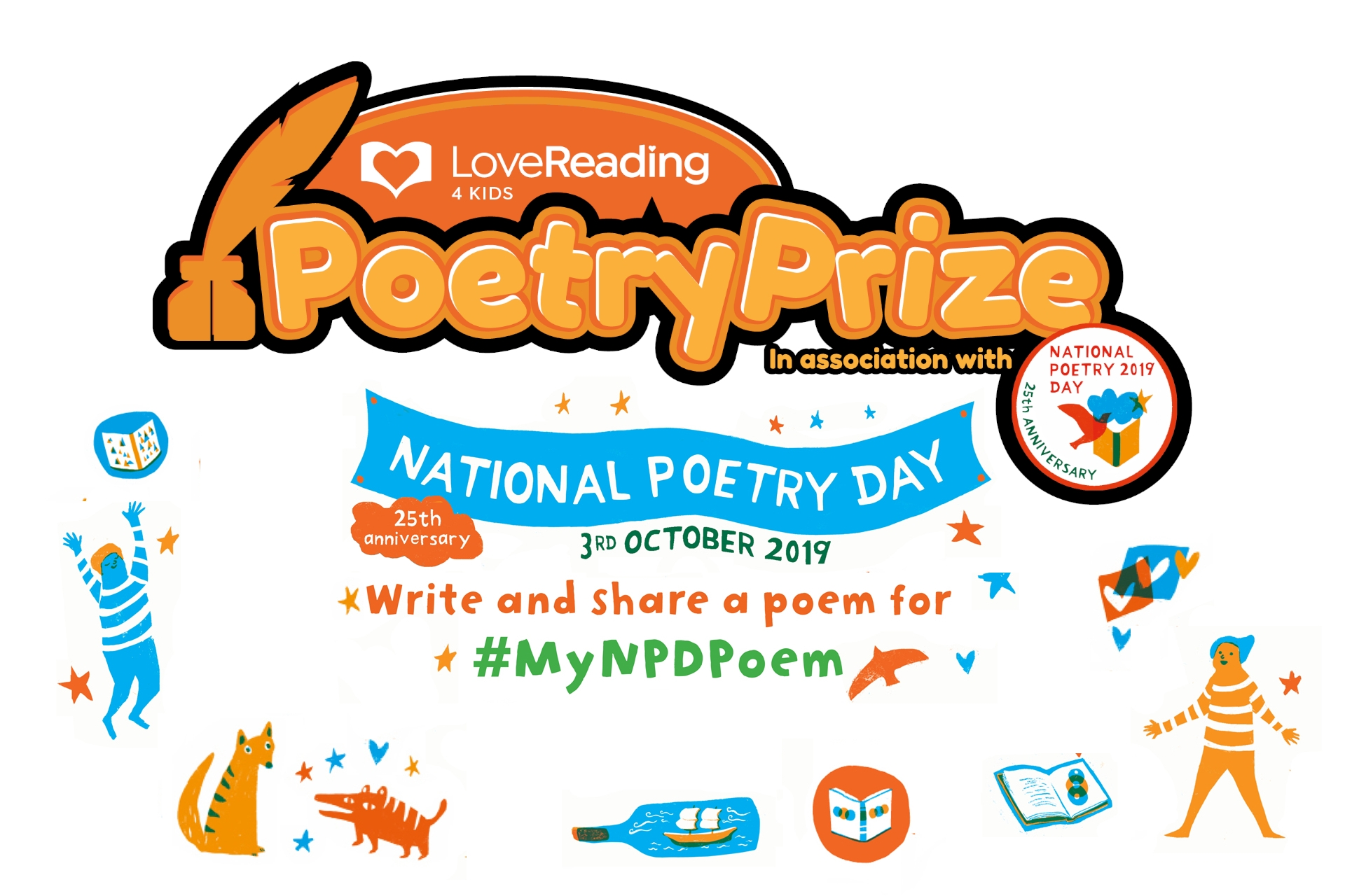 LoveReading4Kids Poetry Prize: The Winner is Announced!