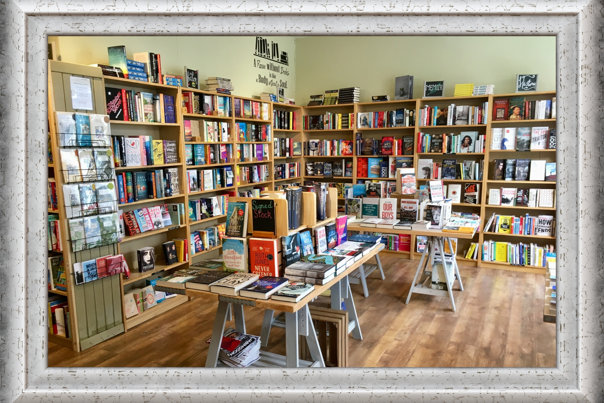 LoveReading Bookshop of the Month: Mostly Books (Abingdon-on-Thames)