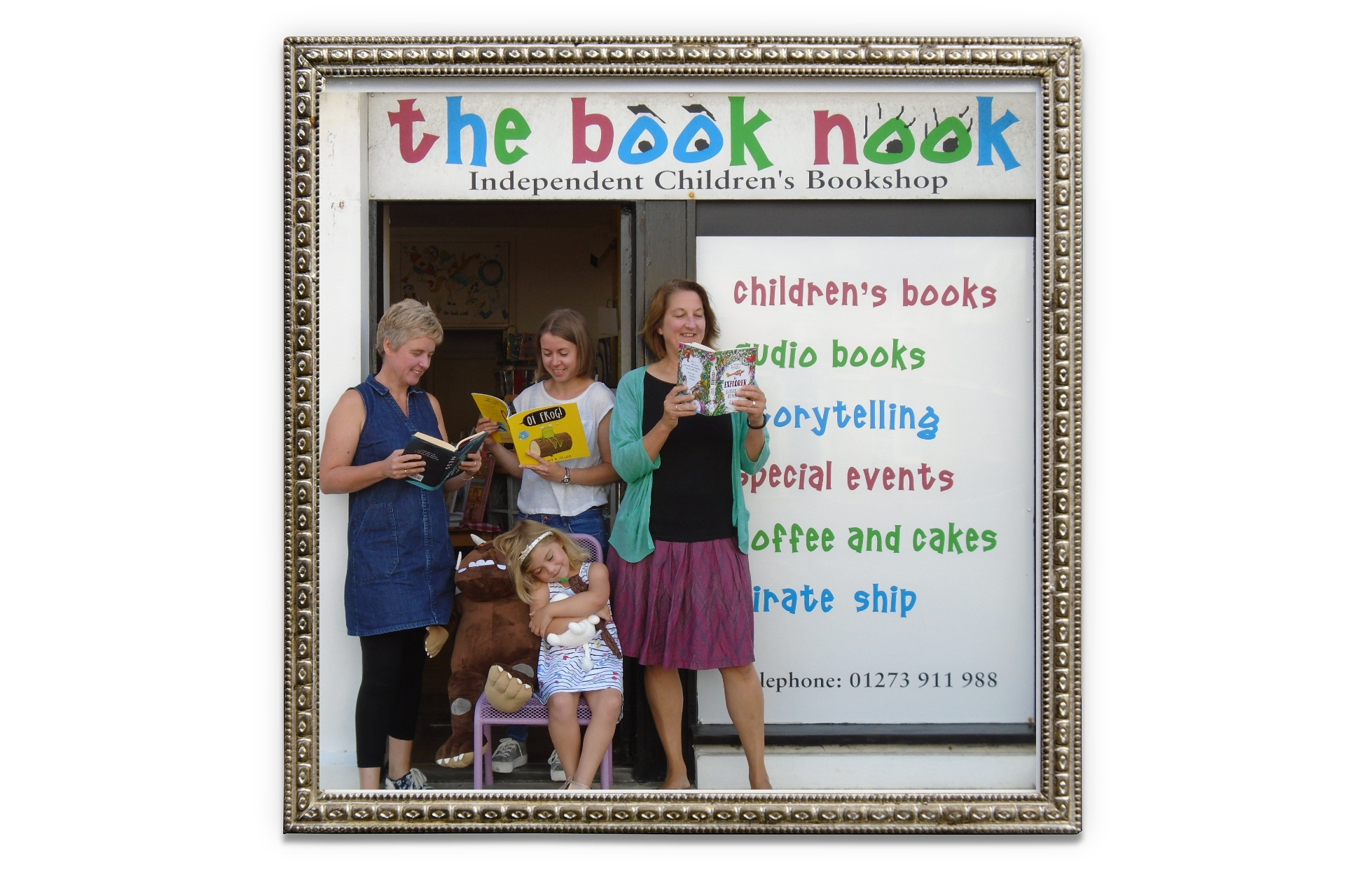 LoveReading Bookshop of the Month: The Book Nook (Hove)