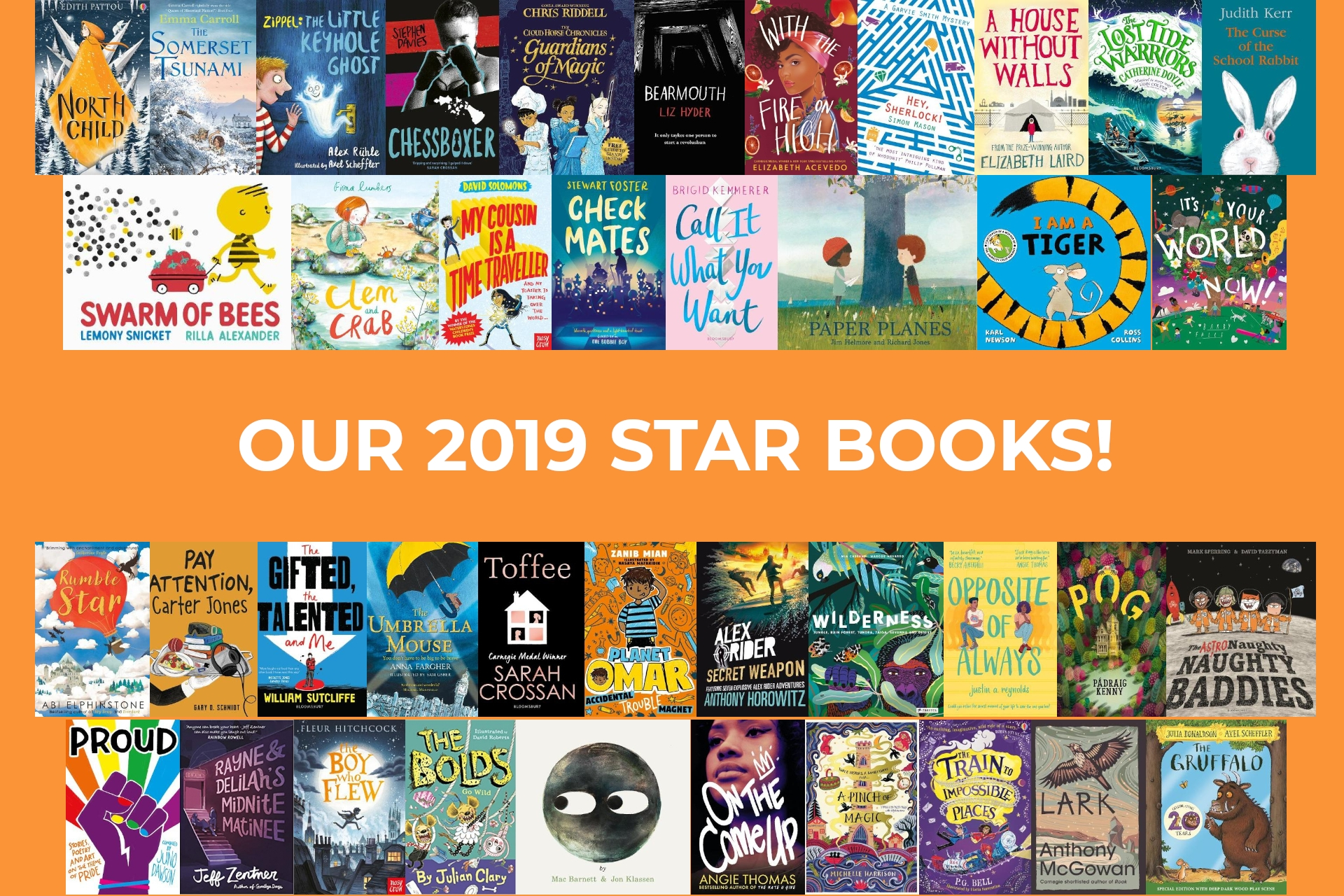 MEGA GIVEAWAY! Win a year's worth of reading with our LoveReading4Kids 2019 Star Books!