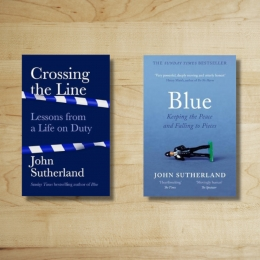 Win a Signed Copy of Crossing the Line and a Copy of Blue: A Memoir by John Sutherland