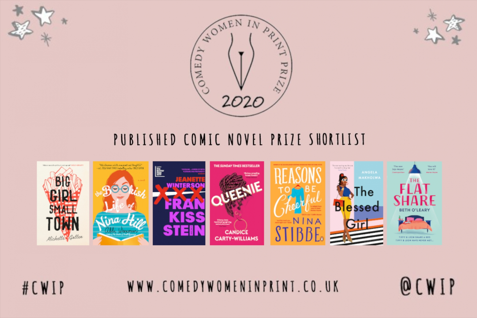 Comedy Women in Print Prize 2020 Shortlist!