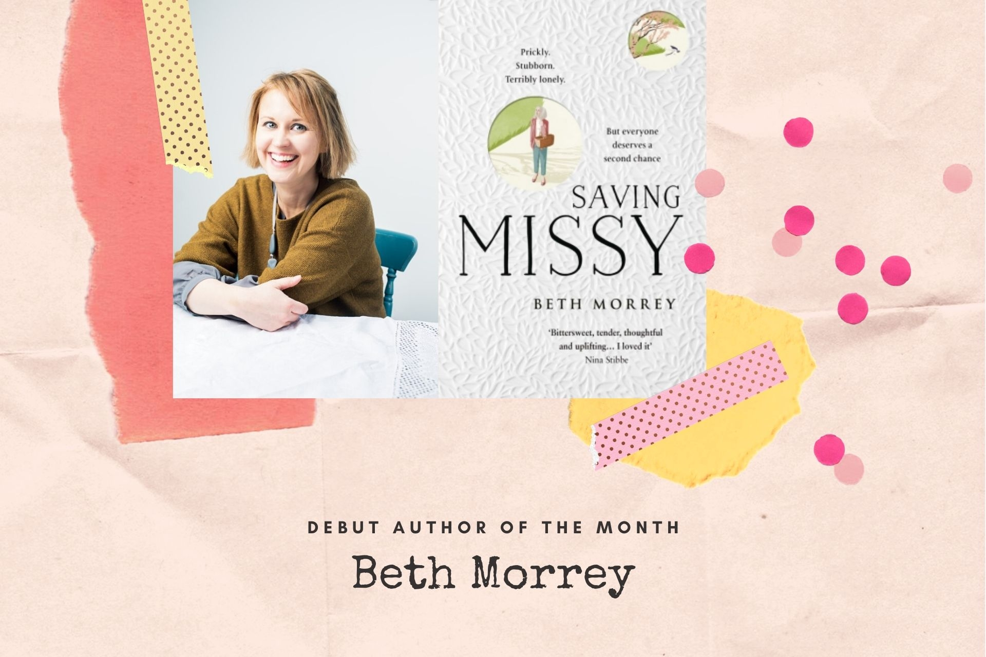 Debut Author of the Month: Beth Morrey, LoveReading Very Short Story Award 2020 Judge