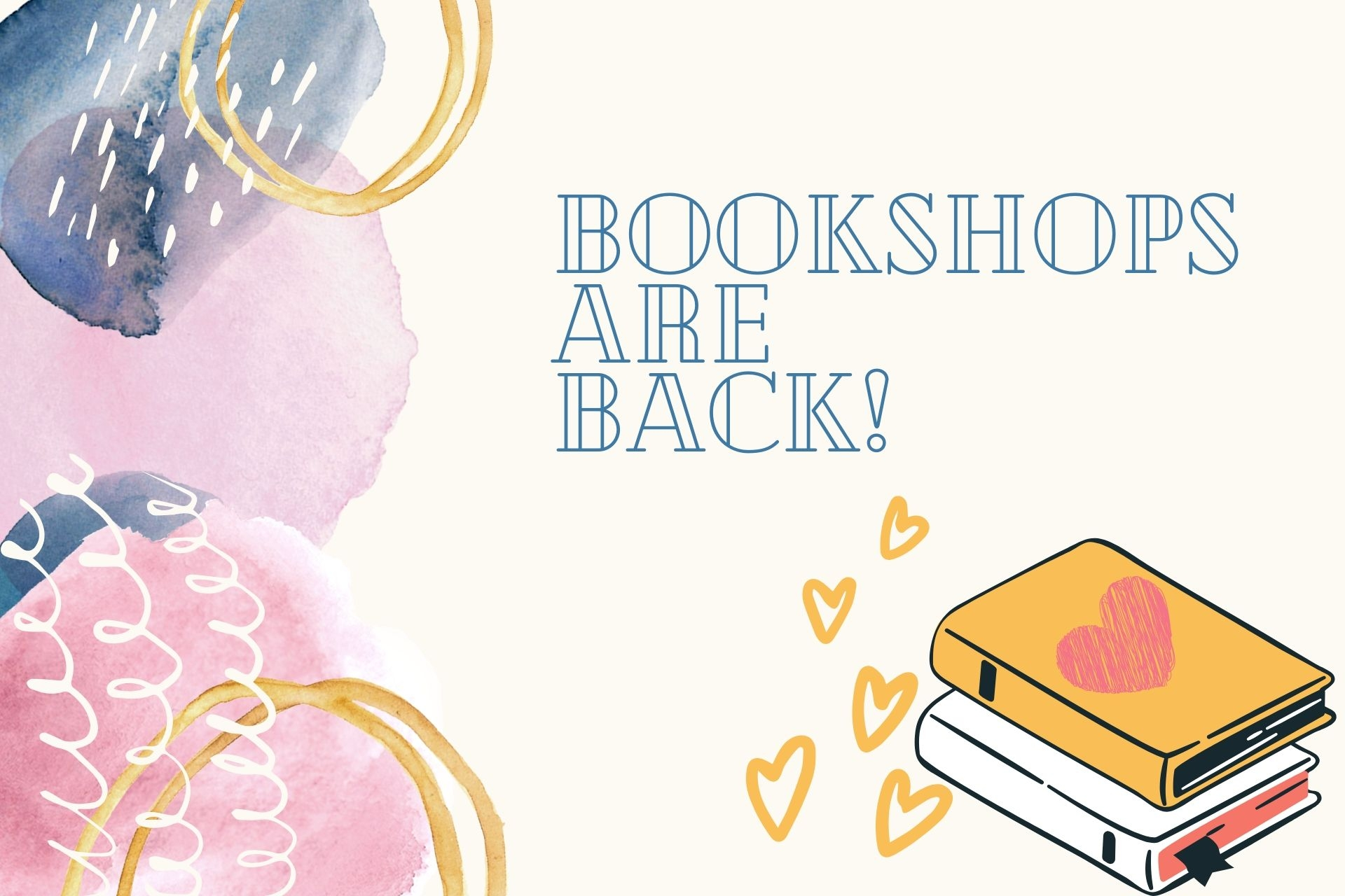 The Bookshops are Back!