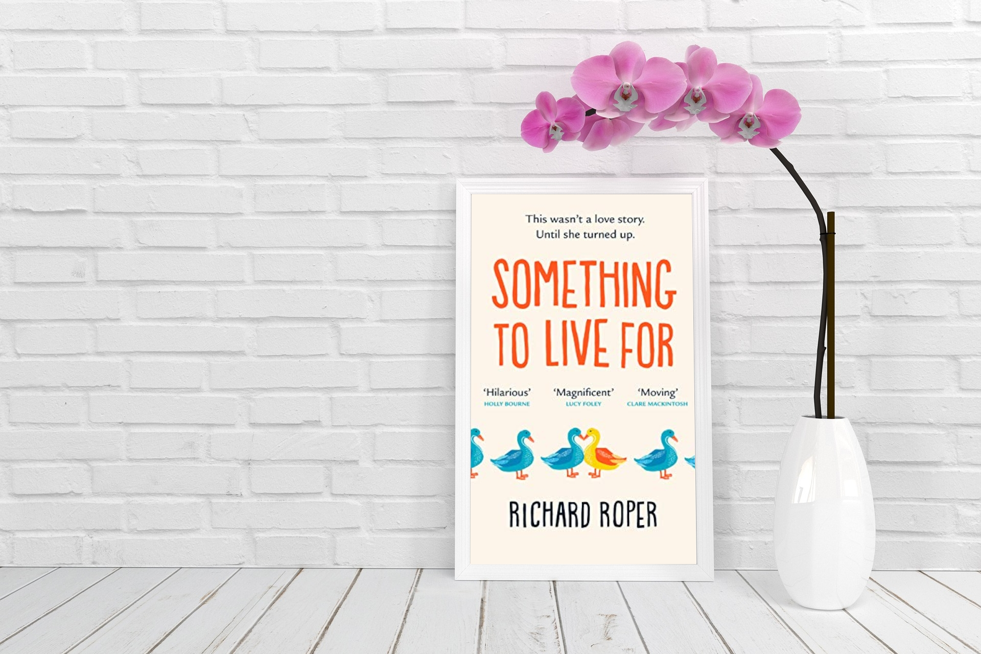 July 2020 Book Club Recommendation: Something to Live For by Richard Roper
