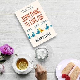 Win Something to Live For in Paperback Plus a Sweet Treat from Sponge.co.uk!