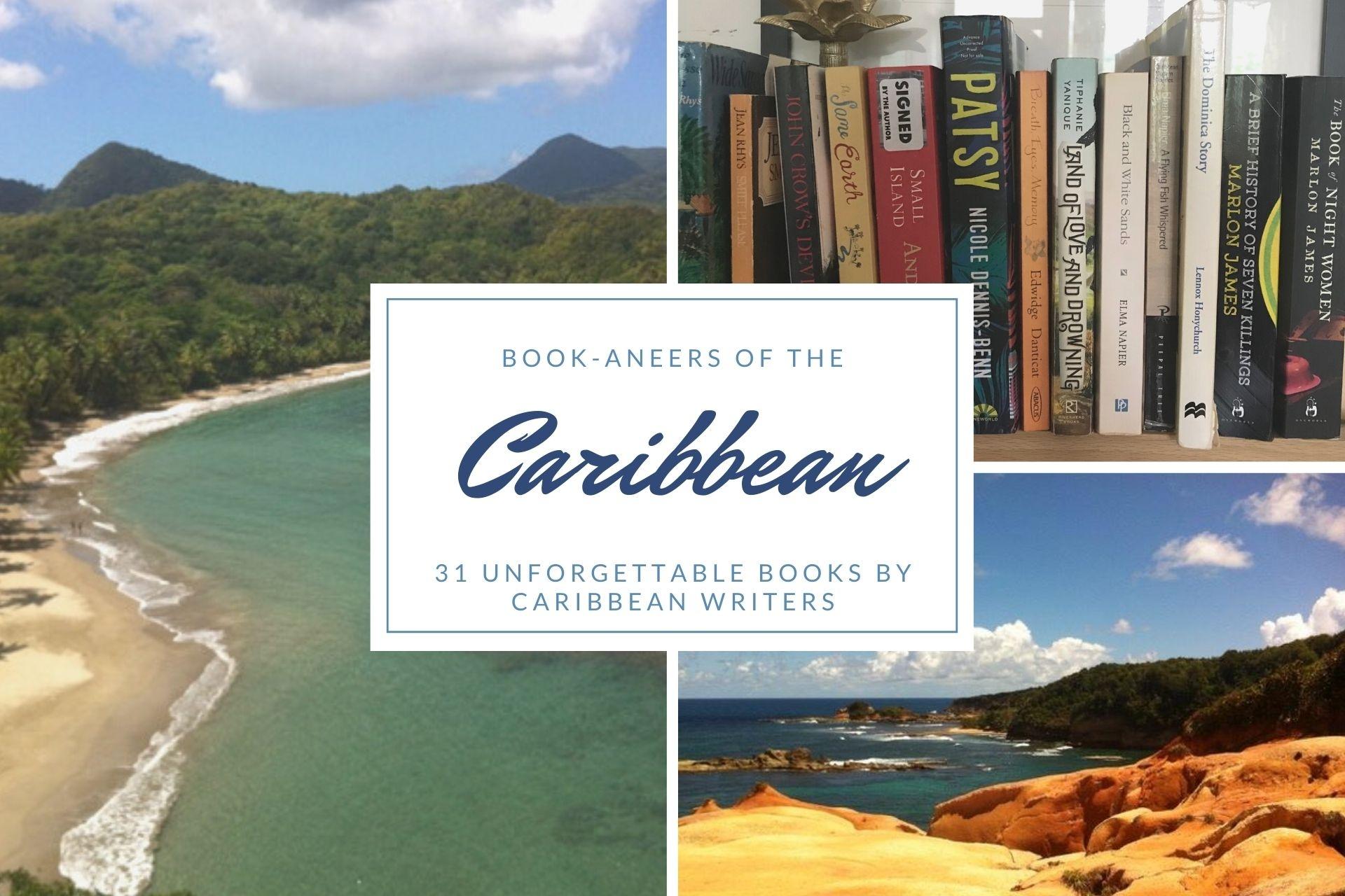 Book-aneers of the Caribbean – 31 unforgettable books by Caribbean writers