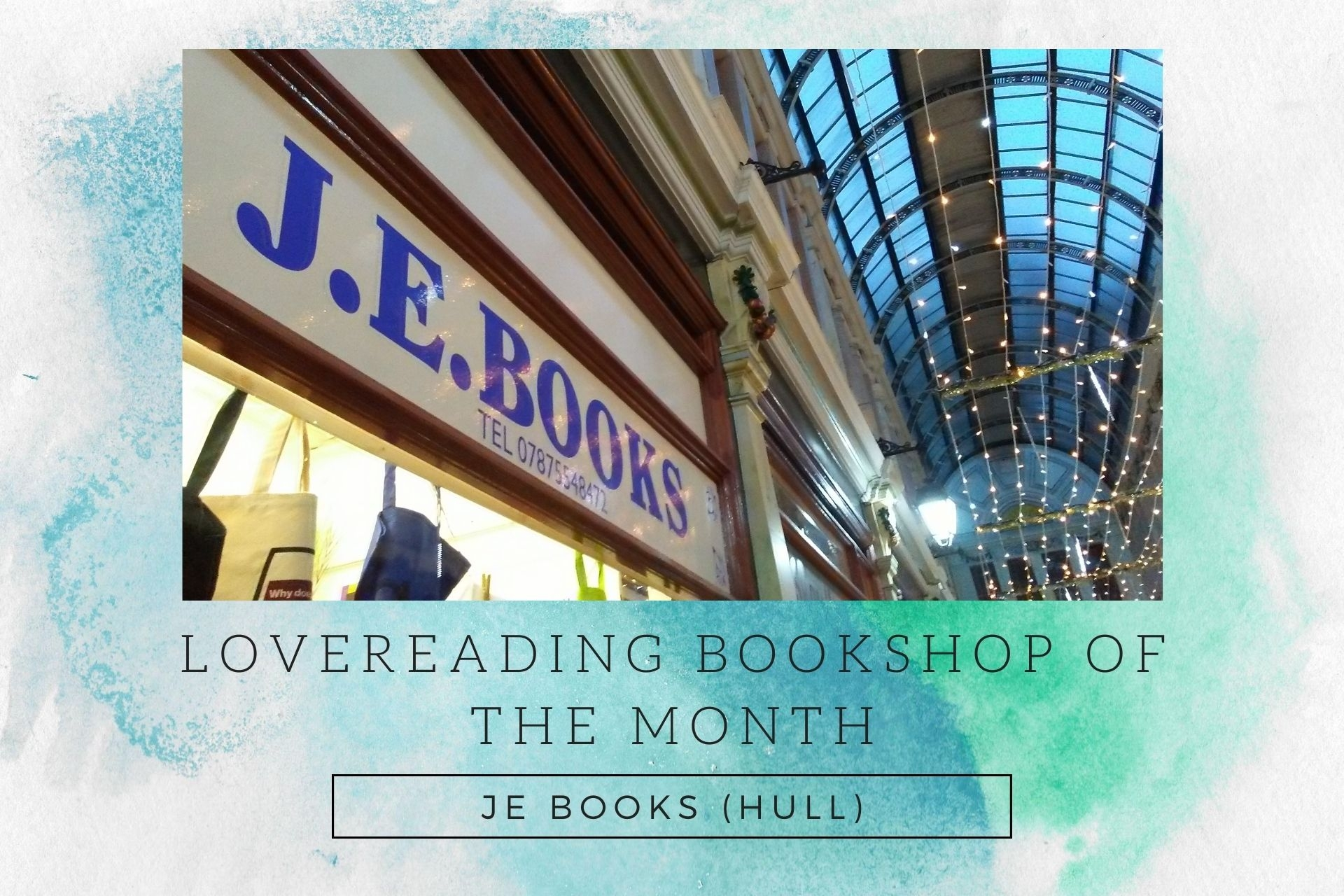LoveReading Bookshop of the Month: JE Books (Hull)