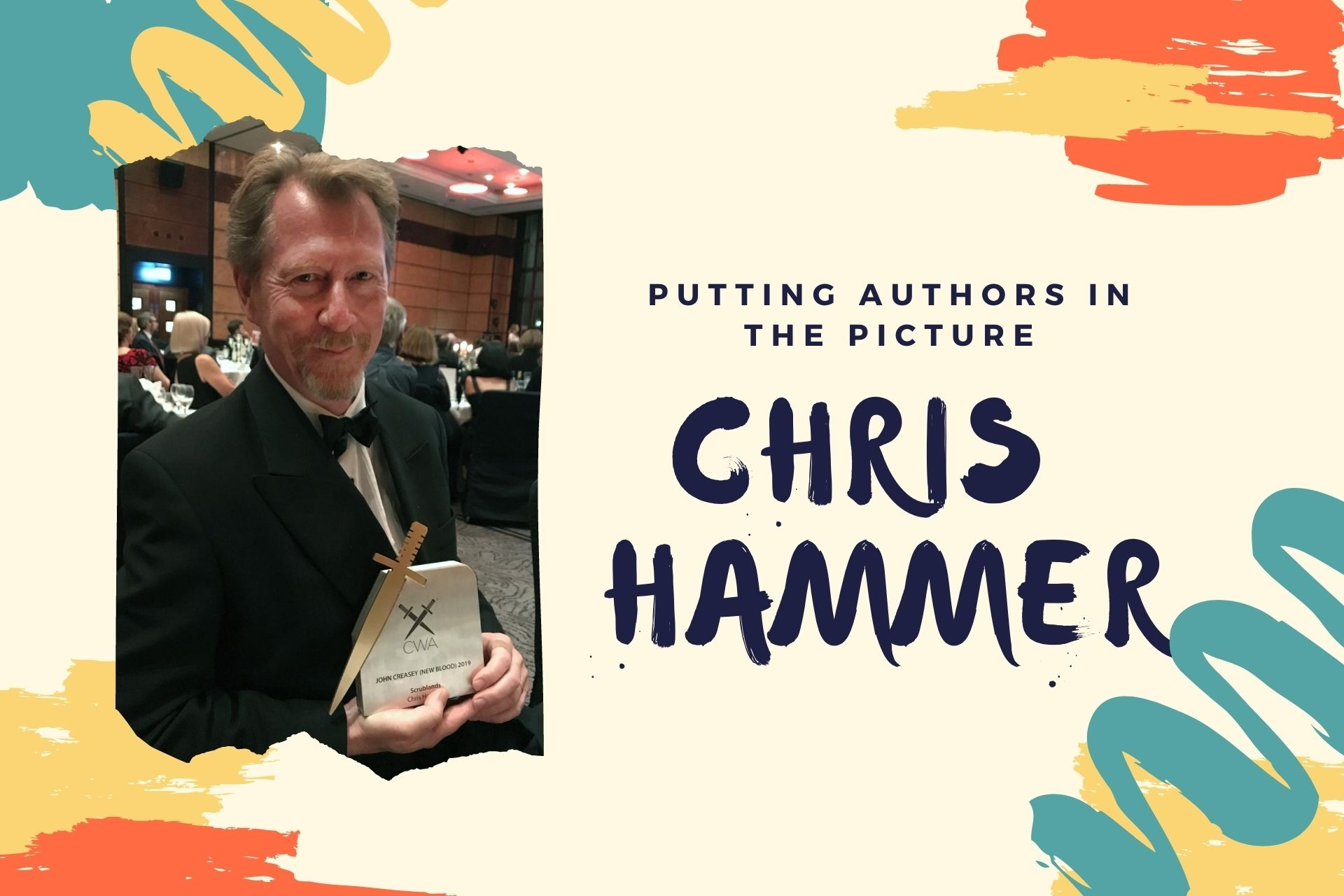 Putting Authors in the Picture #24: Chris Hammer